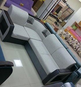 Сапфир 6 ДУ угловой диван-кровать