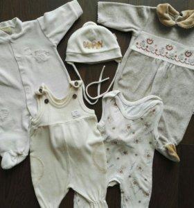 Вещи для малышки пакетом