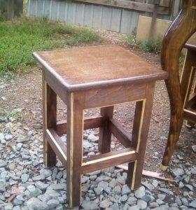 Табуреты,столы,скамейки,лавоки под заказ
