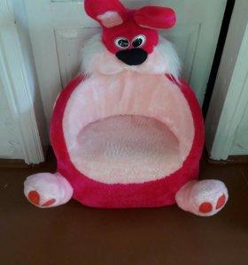 Детское кресло заяц
