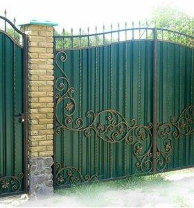 Кованые ворота артикул 29