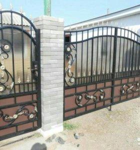 Кованые ворота артикул 28