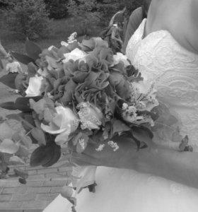 Свадебное платье и доп. аксессуары