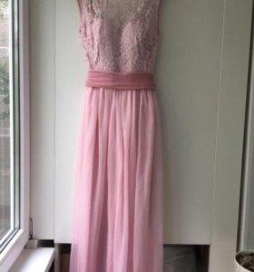 Вечернее платье, розовое
