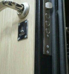 Входные двери металлические стальные