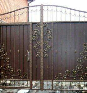 Кованые ворота артикул 19