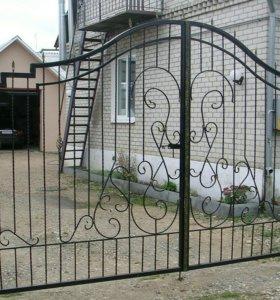 Кованые ворота артикул 18