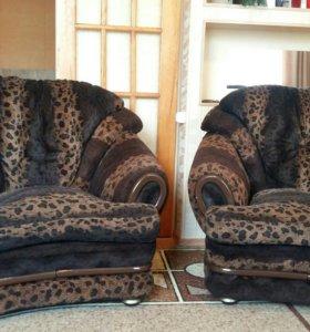 Диван и 2 кресла(Корея)