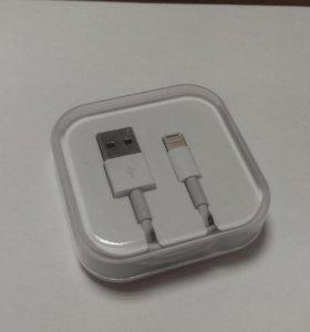Кабель для iPhone, iPad Apple Lightning to USB