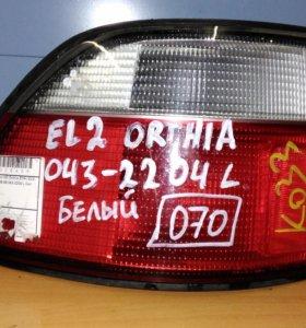 Фонарь левый хонда ортхия 96-99