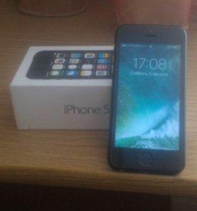 iPhone 5s в корпусе iPhone 7