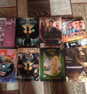 DVDs диски