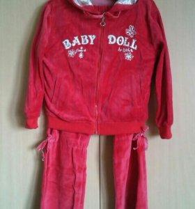 """Новый спортивный костюм""""Baby Doll"""". Торг."""