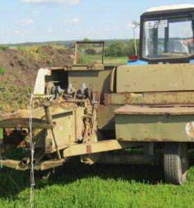 Пресс подборщик тюковый немецкий fortsch К-454