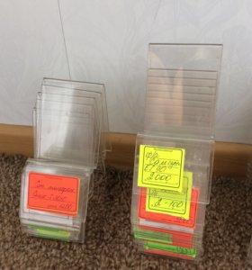Продам подставки для телефонов ,44 шт из пластика