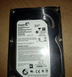 Жесткий диск HDD 500gb, Seagate BarraCuda!