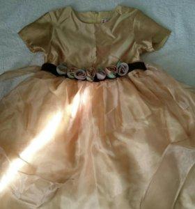Платье размер 110-116