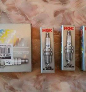 Свечи зажигания NGK Laser Platinum. Новые.