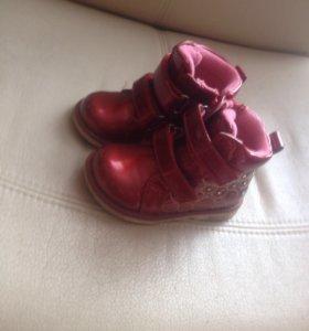 Детские ботинки (весна-осень)