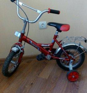 Велосипед в хорошем состоянии от 3х лет