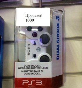 Новый Геймпад для PS3 White