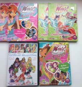 "DVD диски ""Винкс"""