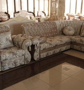 """Угловой диван и кресло """"Дубай"""""""