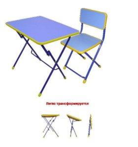 Новый стол и стул