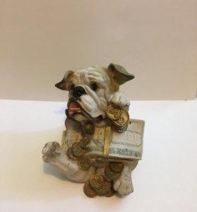 Копилка собака БУ