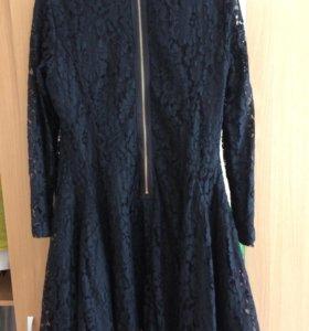 Платье гипюровое новое