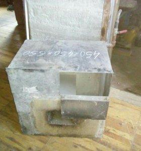 Бак под горячую воду из нержавеющей стали
