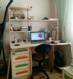 Стол письменный + компьютерный 135х85