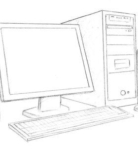 Обслуживание компьютеров, ремонт, модернизация