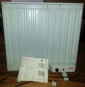 Обогреватель, масляный, электрический 0,75 кВт.