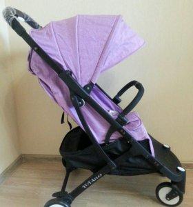 Новая коляска Yoya Plus Сиреневый цвет