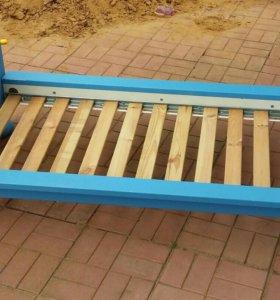 Кровать с матрассом Маммут икеа+подарок