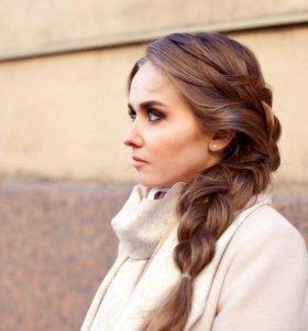 Визаж (макияж), причёска на дом Всеволожск, Мурино