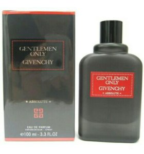 Gentlemen Only Givenchy Absolutely