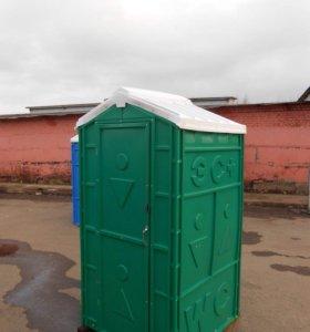 Туалетная кабина - биотуалет для стройки