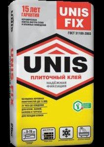 Клей плиточый ЮНИС FIX (25 кг)