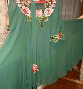 Шифоновая платье