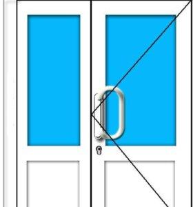 Дверь пластиковая 1320/2120