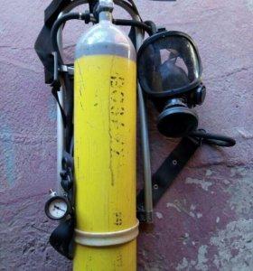 Дыхательный аппарат пожарного