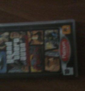 Диск для PSP GTA