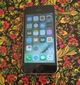 продается новый iPhone 5S 16гб Spsce gray