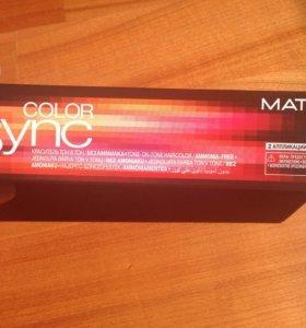 Крем-краска Matrix Color Sync персиковый 90 мл.