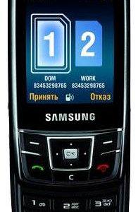 Samsung DuoS SGH-D880