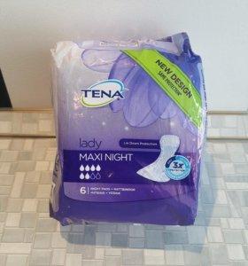 Прокладки TENA lady maxi night