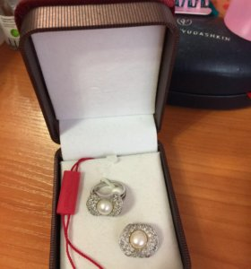 Кольцо и кулончик , серебро