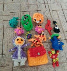 Набор игрушек резиновых
